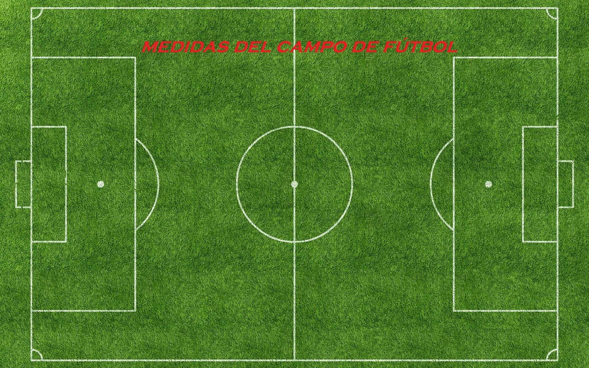Medidas de un Campo de ftbol Dimensiones del terreno de juego