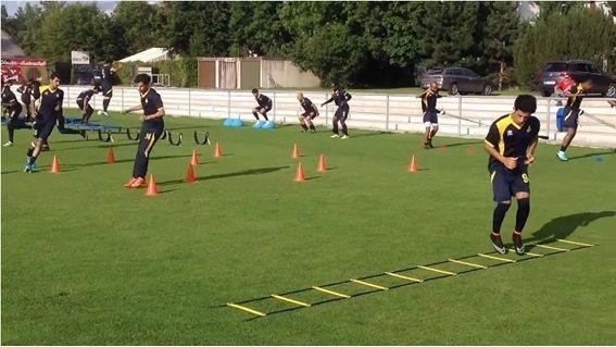 Circuito Fuerza Resistencia : Entrenamiento físico de fuerza resistencia para fÚtbol