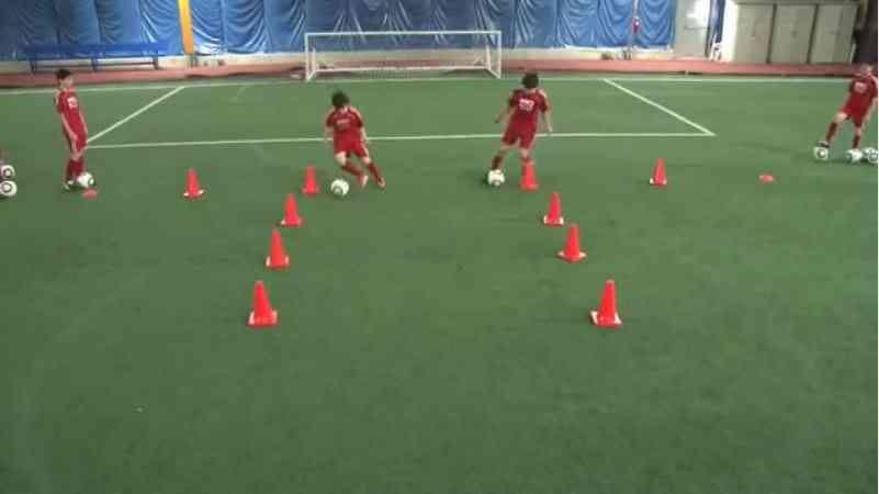 Ejercicios En Circuito Y Coordinacion : Ejercicios de coordinación fútbol trabajo técnico para