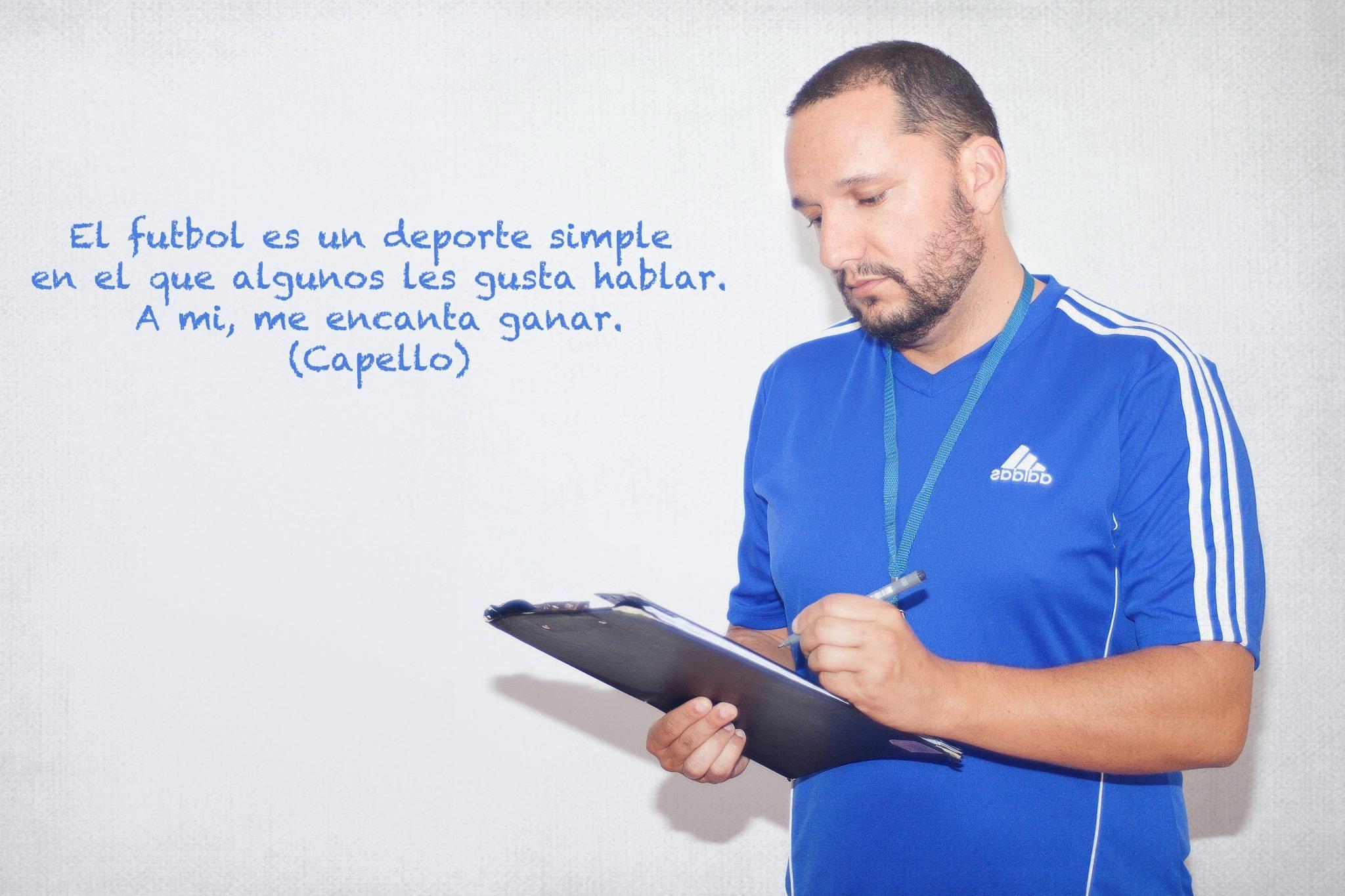 Moisés Díaz Entrenador de Fútbol