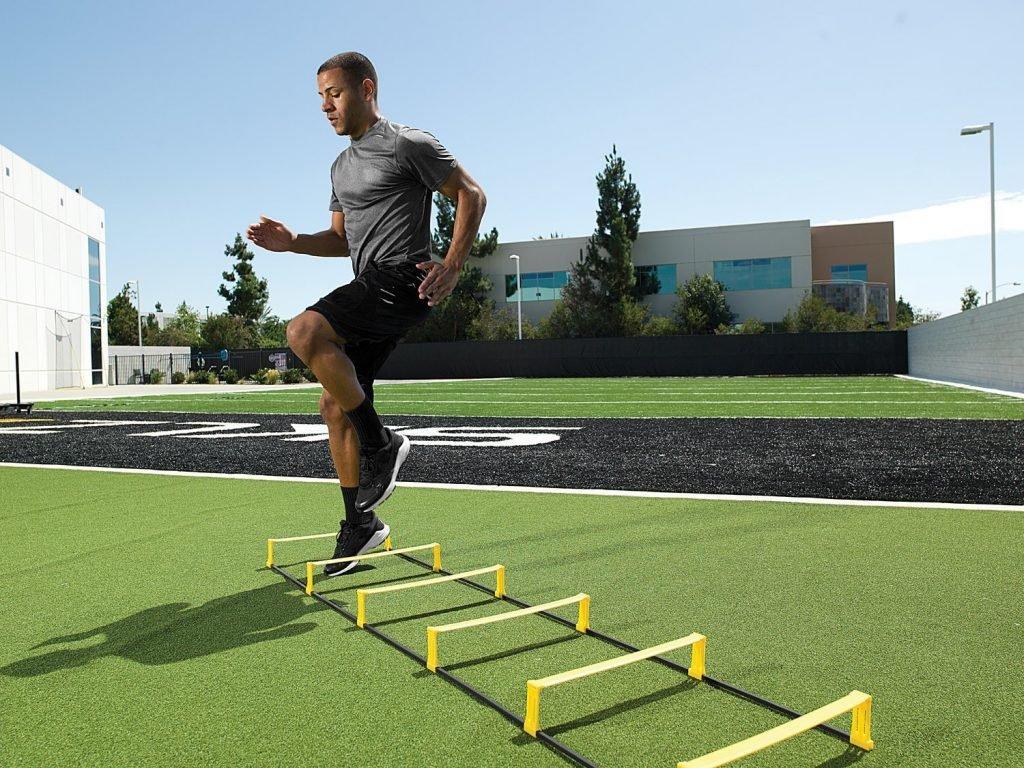 Ejercicios En Circuito Y Coordinacion : Escalera de coordinaciÓn fÚtbol moisés díaz entrenador