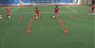 14-ejercicios coordinación fútbol