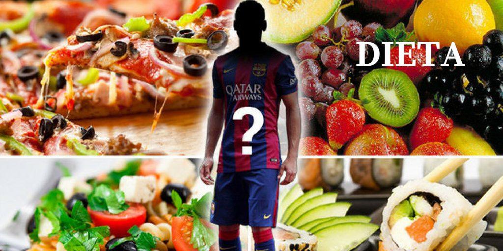 dieta de un futbolista