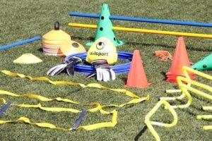 material para entrenamiento defútbol