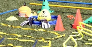 material entrenamiento futbol