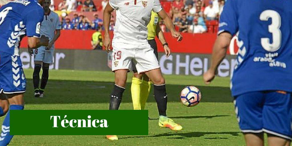 técnica fútbol