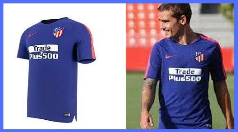 Camiseta entrenamiento Atlético de Madrid 2018- 2019  Mejores ofertas  1d92d399aad08