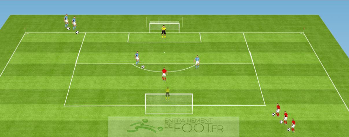 entrenamiento futbolístico específico de los atacantes -44