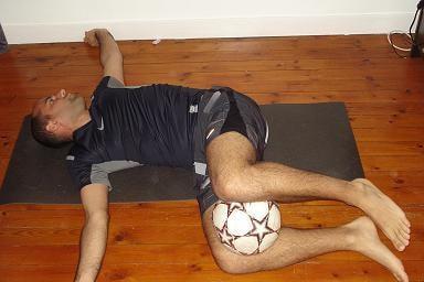 Estiramiento del fútbol
