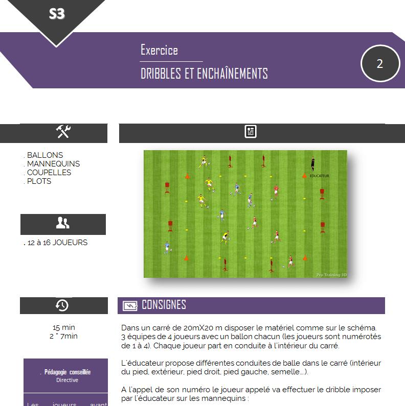 Libro de entrenamiento de fútbol para la escuela de fútbol: 6 semanas de entrenamiento
