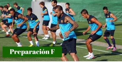 preparación física fútbol