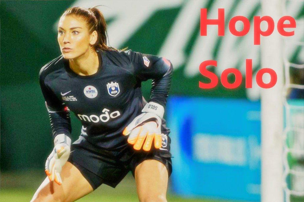 hope solo portera de fútbol